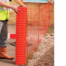 Site Barrier Fence Orange 1m x 50m
